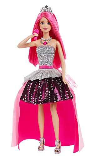 Pink Rock Play N (Mattel CKB57 – Eine Prinzessin im Rockstar Camp – Prinzessin Courtney mit Mikrofon [UK Import])