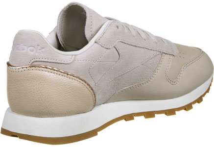 Reebok Classic Leather Golden Neutral Donna Sneaker Nude NUDE|NATURAL|PINK