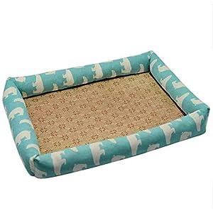 Hundebett wasserdicht Sommer Haustier Hund Matte Klimaanlage Kühlung Zwinger für große kleine Stil 5_XL