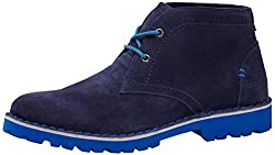 BATA Mens Tommy Blue Boots - 10 UK/India (44 EU) (8049516)