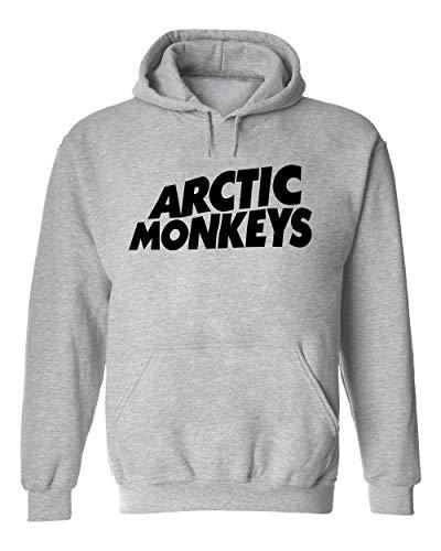 Wicked Design Arctic Monkeys Logo Unisexo Sudadera con Capucha Suéter XX-Large