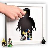 Original Monkey Lego Storage, Art Wand für Kinder, Kind Geburtstag Geschenk, Spielzeug Aufbewahrung, Lego Rahmen