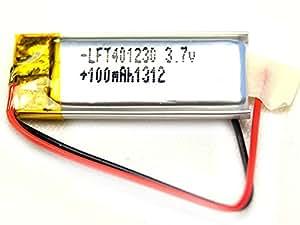 Accu Batterie Li-po 3.7V 1S 100mAh 401230