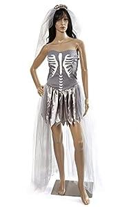 HEITMANN DECO 7531de Mujer Kostuem Zombie de Vestido de Novia, 36-38
