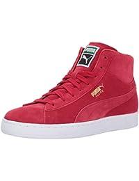 PUMA Men's Suede Classic Mid Sneaker, Toreador-Toreador, 9. 5 M US