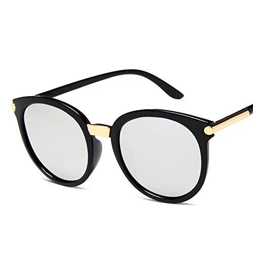 SYQA Sonnenbrille Sonnenbrille Frauen Männer Oval Sonnenbrille Stern Stil Brillen Brillen Pc Beine Rahmen Klar Ac Objektiv Uv400 Shade Fashion,C3