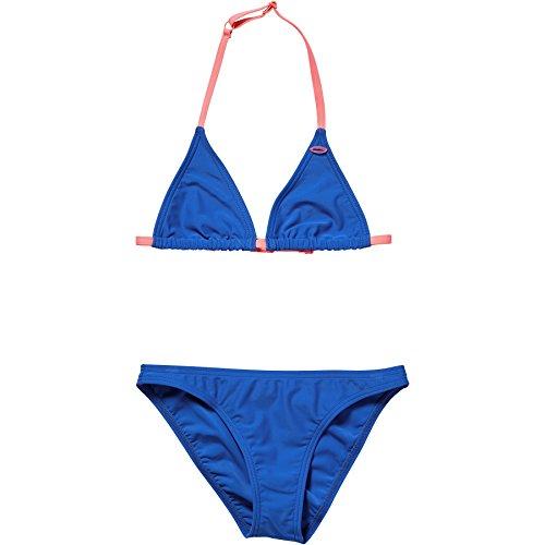 O'Neill Mädchen Essential Bademode Bikini, Neon Dark Blue, 140