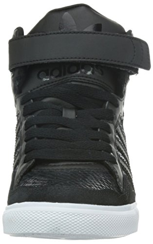 adidas Damen Extaball Up W High-Top Core Black/Core Black/Tomato F15-St