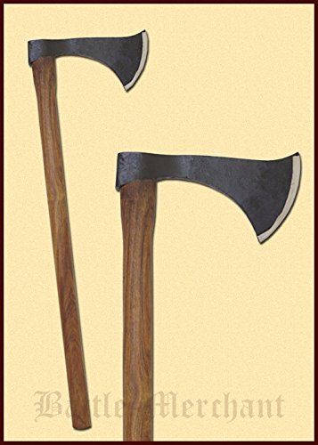 Axt Franziska - Dekorative, mittelalterliche Axt handgeschmiedet aus Stahl