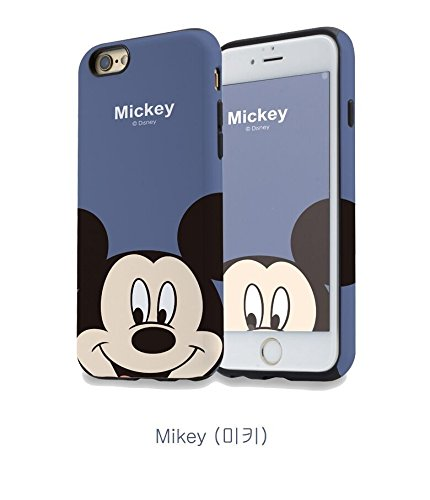 iPhone cases Disney Cartoon character MICKEY & MINNIE FAMILY Soft TPU Flexible Protective Case Cover for Apple iPhone 7 PLUS, DAISY MICKEY