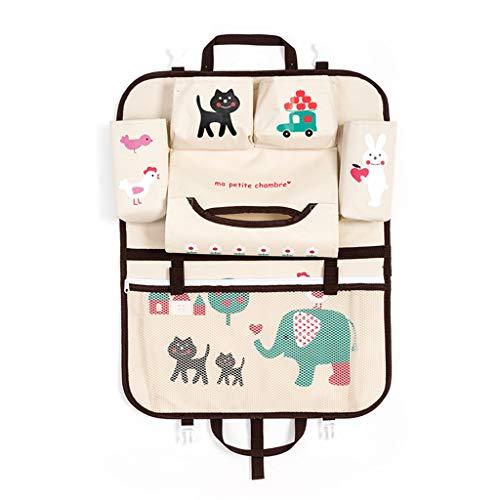 Aufbewahrungsbeutel,Rifuli® Cartoon Autositz Aufbewahrungstasche Stuhl zurück Kinderwagen hängen Tasche Veranstalter Inhaber Ordnen Kleideraufbewahrung Unterbettkommoden Taschen