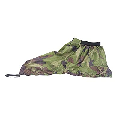 Universal Adjustable Outdoor Kayak Spray Skirt Boat Canoe Surf Sprayskirt Cover - Woodland Camo/ Digital Camo/ Black from Generic