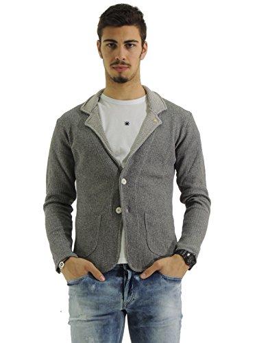 manuel-ritz-2232m505-173381-giacca-uomo-monopetto-in-maglia-cardigan-felpa-m-grigio