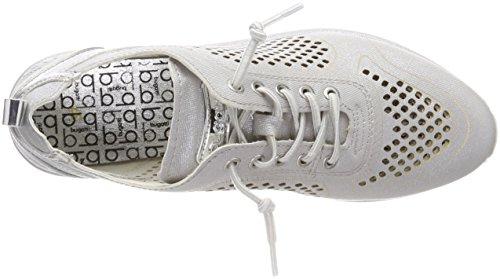 Bugatti Damen 421452015959 Sneaker Silber (argento / Metallico)