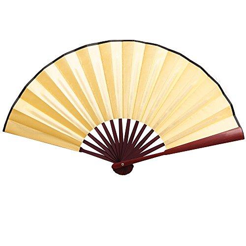 Seide Weiß Handfächer Hochzeit Fächer Chinesisches Abend Party Hand Fächer Papierfächer Taschenfächer Braut Faltbare Fan Tanzen Zubehör Klapp Bambus Festival Geschenk Cosplay Wohnzimmer Deko -