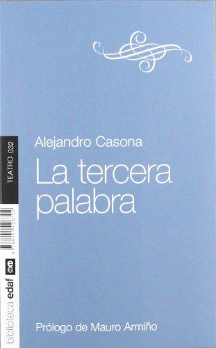 La tercera palabra (Nueva biblioteca Edaf) por Alejandro Casona (1903-1965)