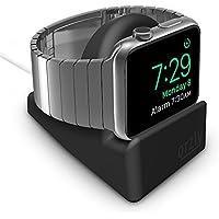 Orzly Night-Stand - Soporte de Apple Watch para ocultar el cable de carga, color negro