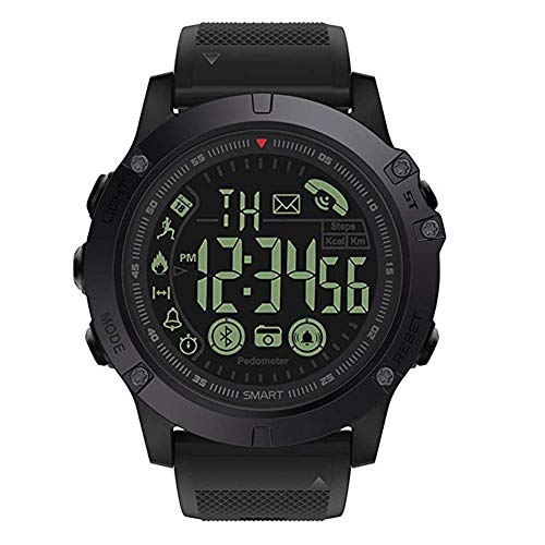 T1 tatto uomo Digital sport orologio parlante di grado militare super Tough intelligente orologio impermeabile all' aria aperta contapassi contacalorie multifunzione Bluetooth Smart Watch