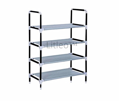 Litleo High Fiver Metal Collapsible Shoe Rack / Wardrobe (multipurpose)