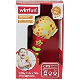 Winfun Baby Rock Star Microphone, Multi Color