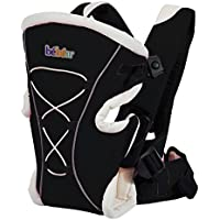 Bebamour Classic Baby Carrier Backpack 3 in 1 Front and Back Baby Carrier (Black)