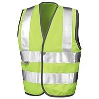 Result Kids Childrens High Visibility Viz Safety Vest EN1150 class 2 approved