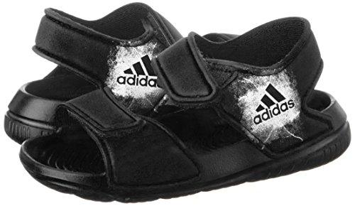 adidas Kinder-Unisex Altaswim I Badeschuhe, Nero (Negbas/Ftwbla/Negbas), 19 EU -