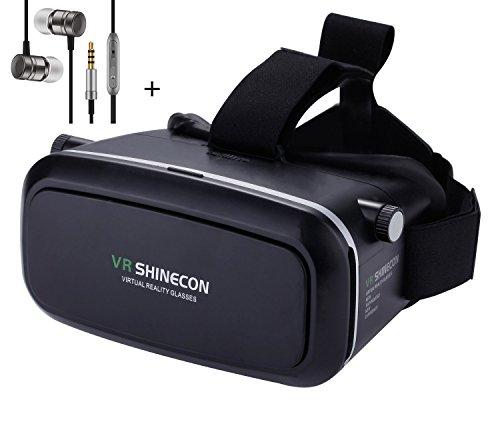 VR Headset 3D VR Glasses, Ownmax 3D VR Box Lunettes Casque Vision de  réalité virtuelle 5b9ba8d10dee