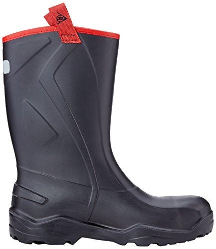 Dunlop, Stivali donna Nero (Zwart 00)