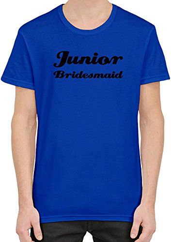 Junior Bridesmaid Funny Slogan T-Shirt per Uomini XX-Large