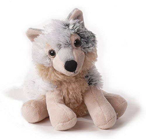 Inware 6520 - Kuscheltier Wolf Isegrim, 17 cm, Schmusetier