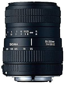 Sigma 55-200mm 4-5,6 AF DC Objektiv für Sigma