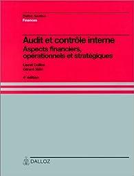 Audit et contrôle interne par Lionel Collins
