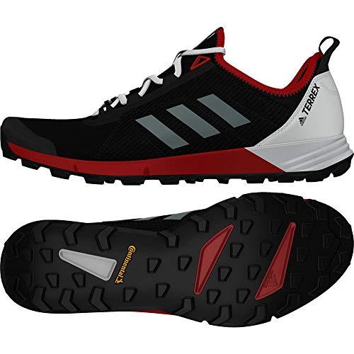 adidas Herren Terrex Agravic Speed Traillaufschuhe, Schwarz (Negbas/Ftwbla/Roalre 000), 43 1/3 EU (Land Männer Schuhe Adidas)
