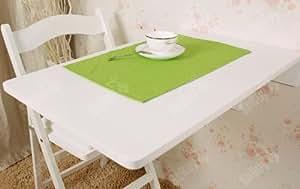 Wandklapptisch, Küchentisch, Kindermöbel, Wandtisch, Esstisch, Schreibtisch 70x45cm FWT04-W (Weiß)