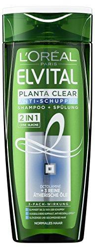 L'Oréal Paris Elvital Planta Clear 2in1 Anti-Schuppen Shampoo und Spülung, für normales Haar, 250 ml (Shampoo Anti-schuppen Clear)