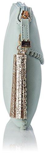 Lollipops Damen Beam Clutch Schultertasche, 2x16x24 centimeters Blau (Aqua)