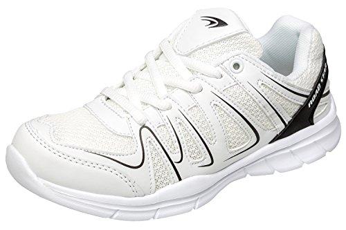 gibra Chaussures de Course Pour Homme Weiß