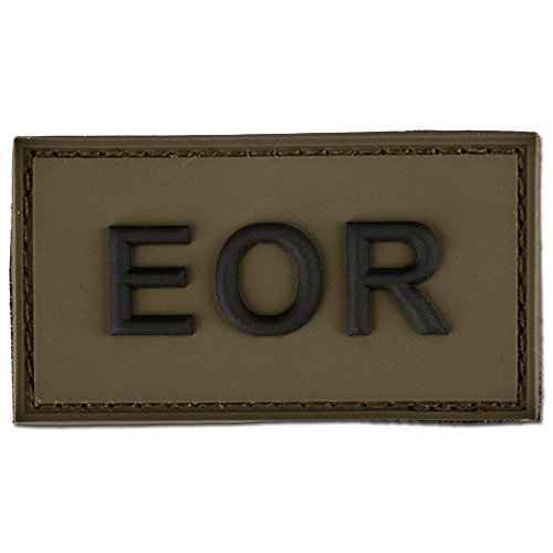 3D-Patch EOR - Explosive Ordnance Reconaissance oliv/schwarz -