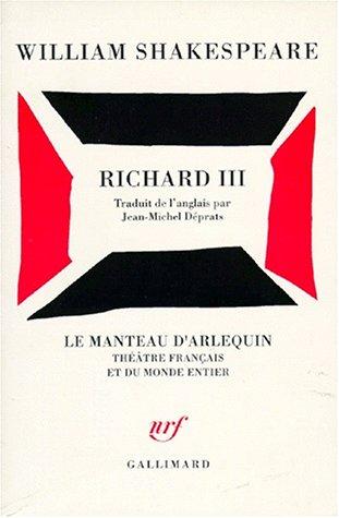 Richard III par William Shakespeare