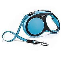 Croci C2055819 Guinzaglio Flexi New Comfort Tape 8M, L, Blu