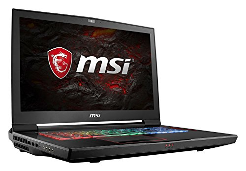 MSI GT73VR 7RF-296 Titan Pro (43,9 cm/17,3 Zoll) Gaming-Notebook (Intel Core i7-7820HK, 32GB RAM, 1 TB HDD + 512 GB SSD, Nvidia GeForce GTX 1080, Windows 10 Home) schwarz GT73