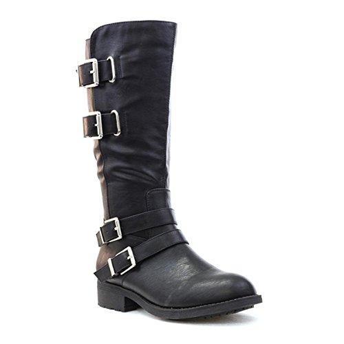 Un1eqhw Lilley Botte Classique Boucles Avec Noire Noir Femme F0wTx0vgq
