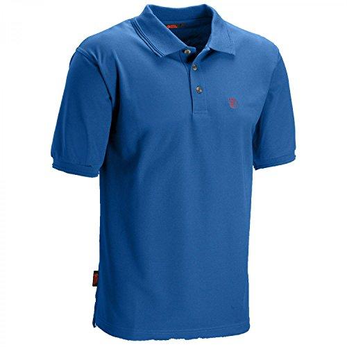 Bay Schnitt (Fjällräven Herren Crowley Pique Shirt Poloshirts, Bay Blue, L)