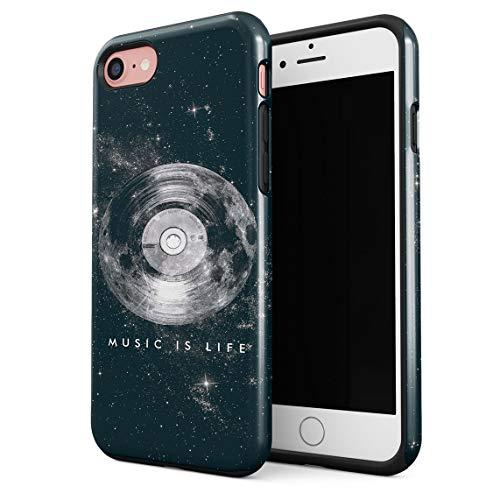 2a57875d67 Cover per iPhone 7 & 8 Case Music Is My Life Stars Galaxy Resistente agli  Urti