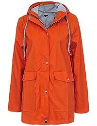 27205f65ada799 Suchergebnis auf Amazon.de für: regenmantel damen - Orange: Bekleidung