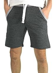 Waxx-Waxx 601101-Bermudas para hombre, color gris oscuro