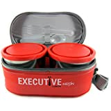 Milton Executive Lunch Box Set, 3-Pieces, 260ml, Orange