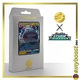 LEKTROBAL GX 48/168 - #myboost X Sonne & Mond 7 Sturm am Firmament - Box mit 10 Deutschen Pokémon-Karten