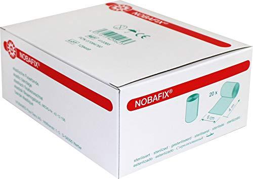 20 x NOBAFIX Elastische Fixierbinde, Größen:4 m x 6 cm